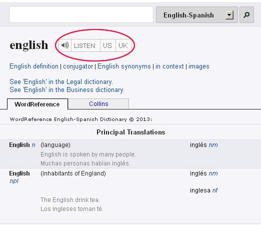 WordReference-diccionario