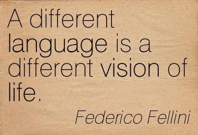 fellini a different language