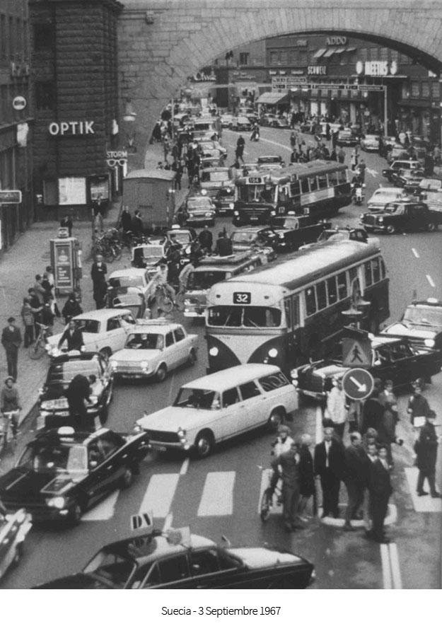 Suecia 3 septiembre 1967