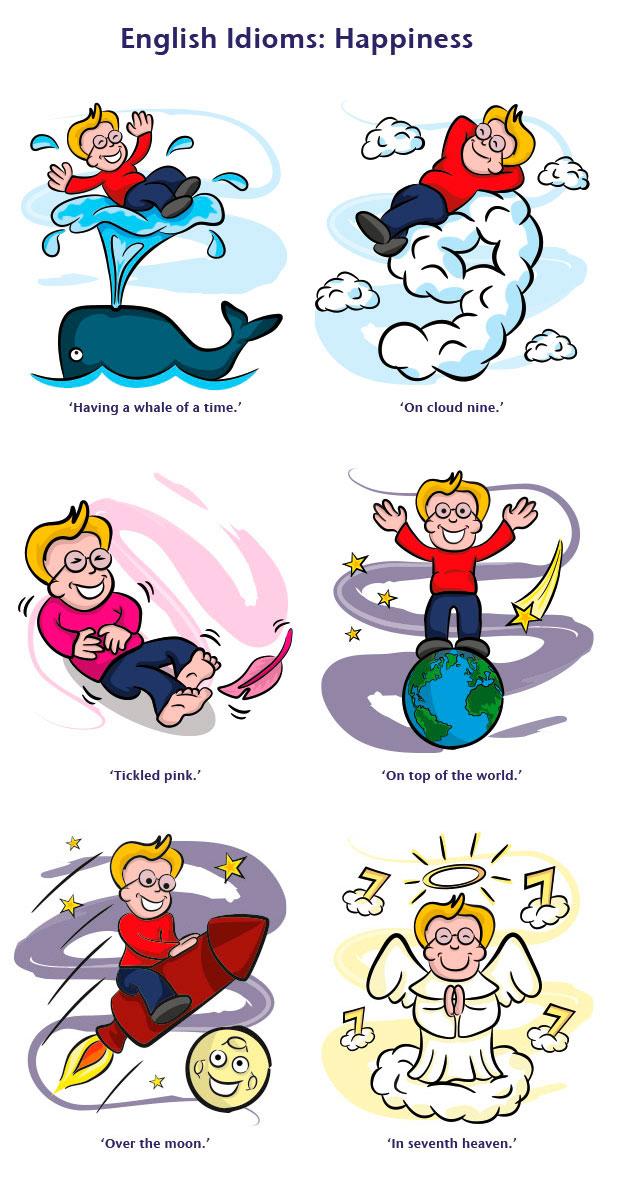 English-Idioms-Happiness